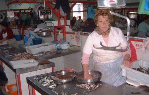 Fishmarket in Cambados, Galacia