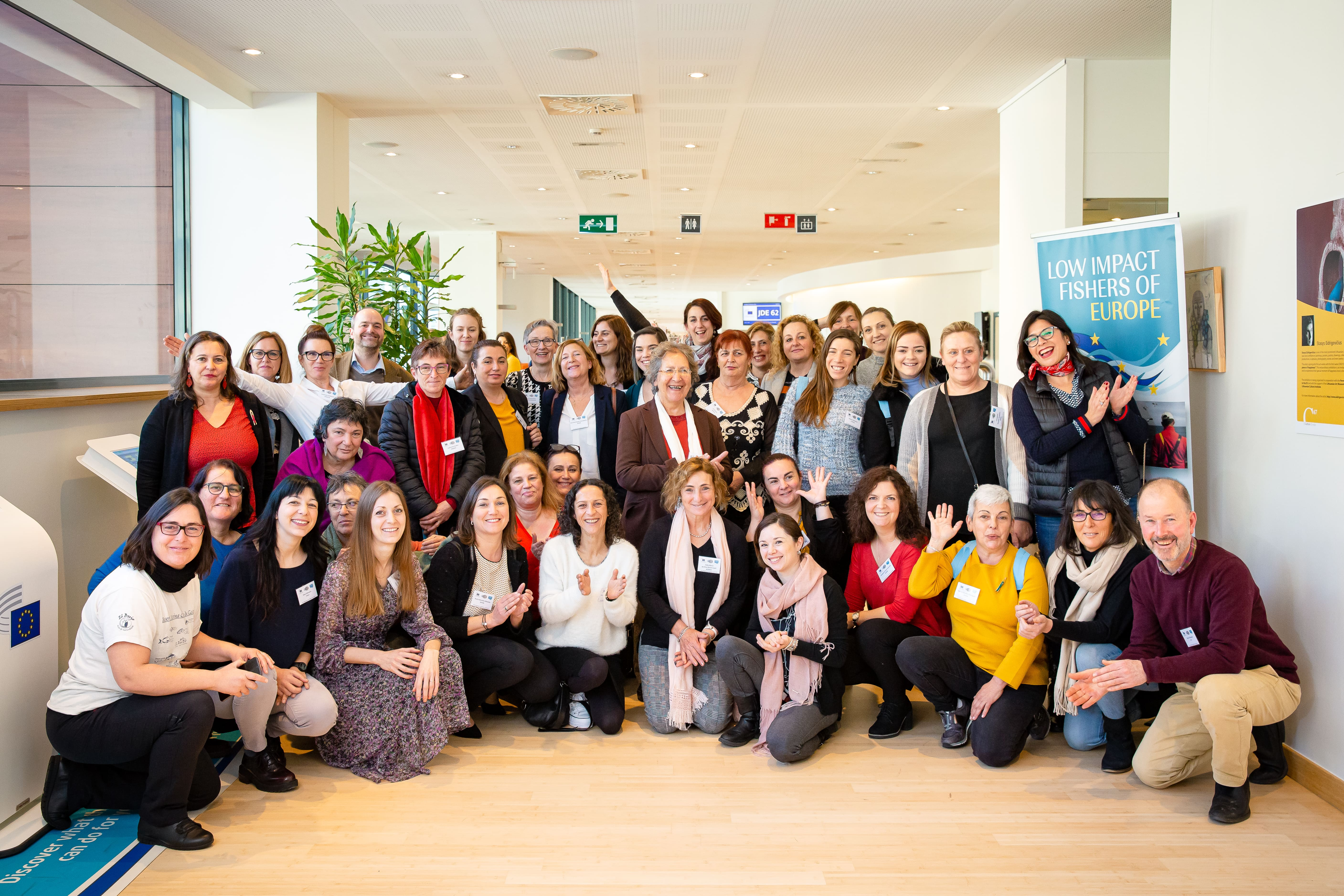 AKTEA's women conquer Brussels